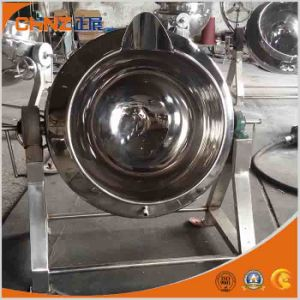 High Quality Stainless Steel Tilting Jacketed Kettle pictures & photos