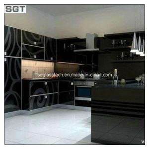6mm Decoration Low Iron Toughened Digital Printing Glass Kitchen Splashback pictures & photos