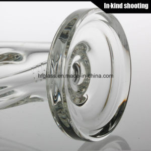 Hfy Glass in Stock 9mm Waterpipe Thickest Smoking Water Pipes Straight Tube Sheldon Black Clear Hookahs pictures & photos