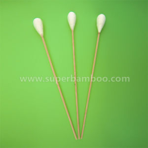 9′ Bamboo Stick Cotton Swab for Medical/Industry Use (B3523015)