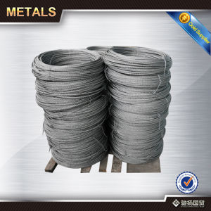 ASTM DIN Galvanized Fiber Coated Steel Wire Rope