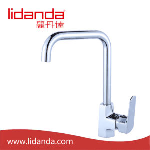 Contemporary Brass Kitchen Faucet with Chrome pictures & photos