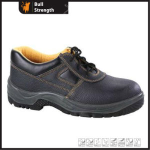 Industrial Leather Safety Shoes with Steel Toecap (SN1731) pictures & photos
