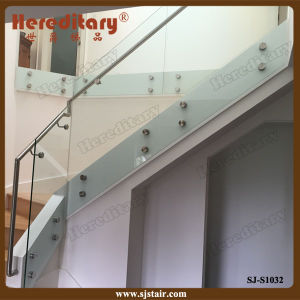 Stainless Steel Wall Glass Clamp Frameless Glass Baluster for Indoor/Outdoor (SJ-S1032) pictures & photos