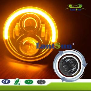 7′′ LED Headlight Turn Signal Light Ring for Jeep Hummer pictures & photos