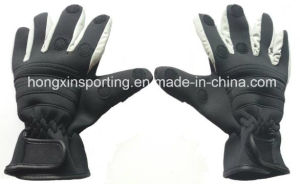 Neoprene Fishing Gloves/Rubber Gloves (HX-GS-0001) pictures & photos