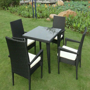 PE Rattan Bar Furniture Dining Furniture Set pictures & photos