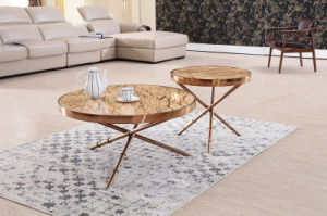Hot Sale Modern Glass Board Corner Table pictures & photos