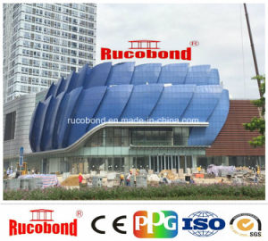 Rucobond ACP Aluminum Composite Panel Wall Cladding pictures & photos