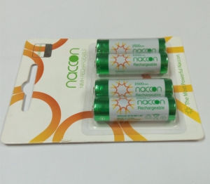 Ni-MH AA2500mAh Rechargeable Battery 1.2V pictures & photos