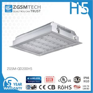 High Light Efficiency 160W LED Canopy Lamp with Motion Sensor pictures & photos