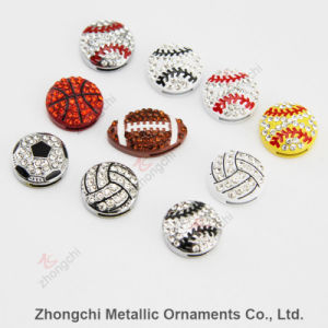 8mm Sportsball Slide Charms for DIY Jewelry
