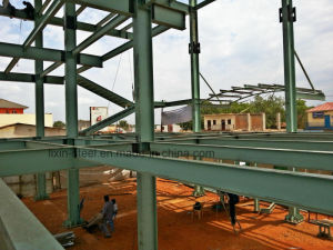 Structure Steel Fabrication for Multi-Storey Metal Frame Constructure Building pictures & photos