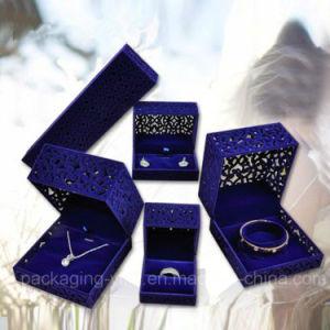 Velvet Jewelry Box for Ring Engagement Gift Wedding Favor