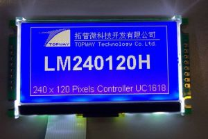 240X120 Graphic LCD Display Cog Type LCD Module (LM240120H) with High Quality pictures & photos