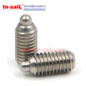 Stainless Steel Ball Threaded Body Plungers pictures & photos