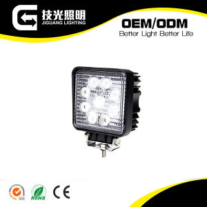 "4"" 27W Pure White LED Work Light Flood Offroad Lamp 12-24V LED Worklights for Cars and Boats"