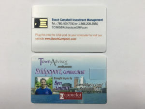 Wafter Card USB Disk with Full Color Printing Logo pictures & photos