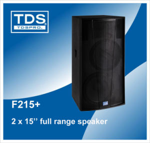 High Power Dual 15 Inch Two Way Entertainment-Purpose Loudspeaker pictures & photos