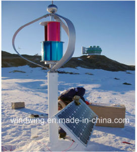 1000W Vertical Axis Wind Turbine Generator in The Snow Area (200W-5kw) pictures & photos