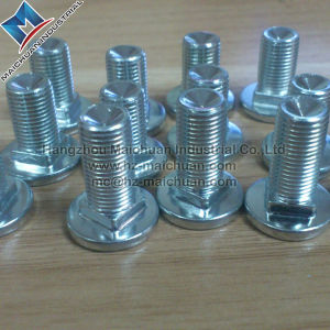 Zinc Plated Steel Metric Carriage Bolts 6mm X 45mm pictures & photos