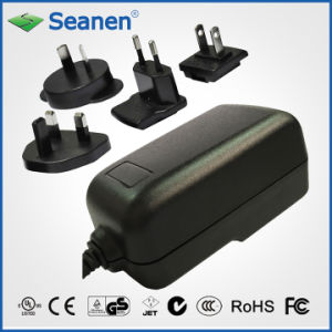 18W Multi-Pin Power Adapter (RoHS, efficiency level VI) pictures & photos