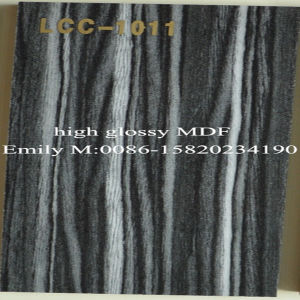 Modern Wooden Design High Glossy Lcc UV MDF (LCC-1009) pictures & photos