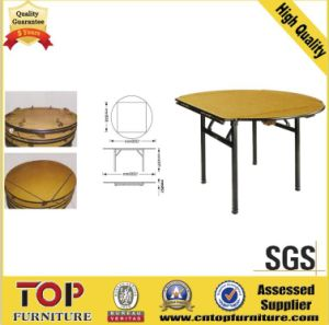 Hot Sell High Grade Hotel Banquet Folding Table (CT-9007) pictures & photos