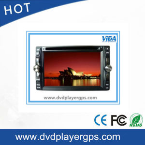 Hot Sales Universal Tousch Screen 6.2′′two DIN Car DVD Player Car MP4 Player pictures & photos