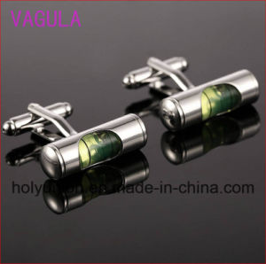 High Quality VAGULA Cufflinks Hourglass Cuff Links Luxury Men Cufflings pictures & photos