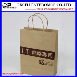 Logo Printed Natural Kraft Shopping Bag (EP-FP55515) pictures & photos