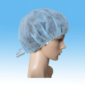 Nonwoven Hairnet Colorful Round Cap for Sale pictures & photos