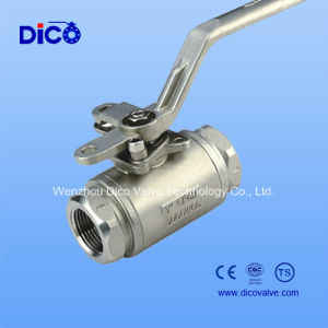 3000wog Stainless Steel 2PC Ball Valve with NPT Thread pictures & photos