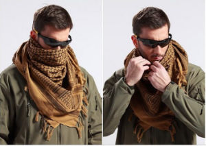 3-Colors Tactical Windproof Shemagh Arab Hijabs Bandanas Military Army Scarf pictures & photos