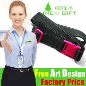 Fashion Jacquard Materials Strap with Release Buckle No Minimum Order pictures & photos