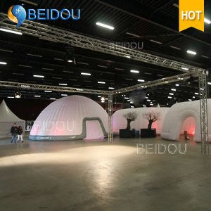 LED Events Party Wedding Decoration Large Tents Marquee Military Army Inflatable Dome Tent pictures & photos