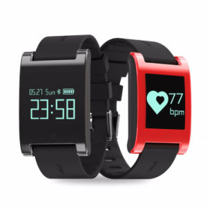 2017 Newest Developed Silicon Smart Bracelet with Heart Rate pictures & photos