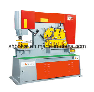 Q35y-25 (115T) Hydraulic Iron Worker, Multi Functional Hydraulic Ironworker pictures & photos