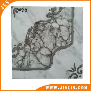 4040 Black Lace Stone Look Polished Glazed Ceramic Floor Tiles pictures & photos