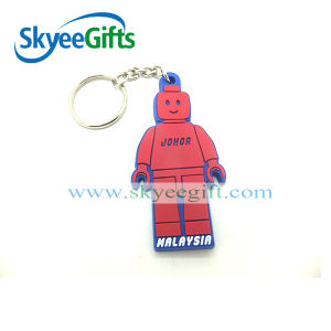 Personality Design Softer PVC 3D Keychain Made in China pictures & photos