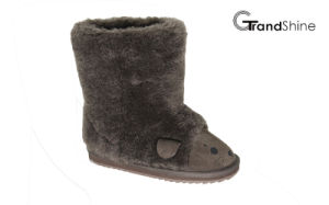 Kids New Arrival Lovely Sheep Snow Boots pictures & photos