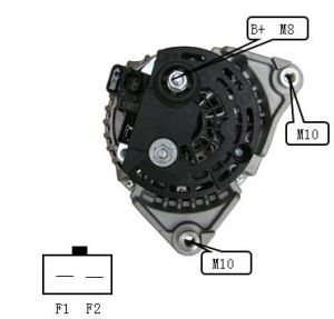 12V 136A Alternator for Bosch Dodge Lester 11239 0124525129 pictures & photos