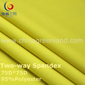 190t Polyester Spandex Dyeing Fabric for Textile Garment (GLLML239) pictures & photos
