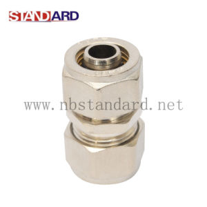 Straight Coupling Brass Fitting