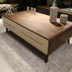 Wooden Tea Coffee Table for Home (2001C)