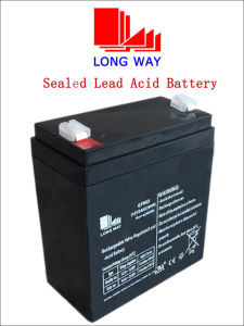 12V3ah Sealed Solar Gel Rechargeable Battery pictures & photos
