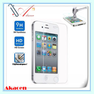 HD 9h Explosion-Proof Tempered Glass Screen Guard for iPhone 4/4s