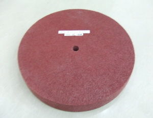 Maroon Color Finishing Wheel pictures & photos