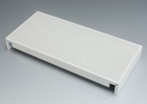 White Perforated Aluminum Ceiling Tiles pictures & photos