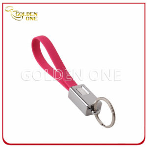New Design Multifunctional Detachable Metal Key Chain with USB Cable pictures & photos